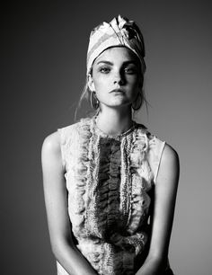 Caroline Trentini by Willy Vanderperre for W Magazine May 2015 2