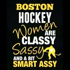 Boston Bruins fans!