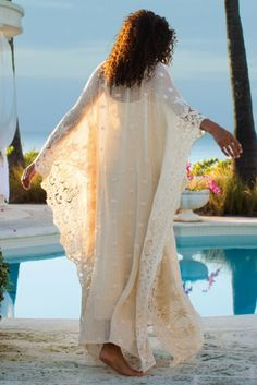 Label Noir Martinique Caftan & Slip - Caftan Dresses, Long Caftan Gown | Soft Surroundings