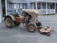 Beaver 750 Garden Tractor with front mounted mower deck Lawn Tractors, Lawn Mower Tractor, Small Tractors, Compact Tractors, Antique Tractors, Vintage Tractors, Garden Tractor Pulling, Garden Tractor Attachments, Go Kart Plans