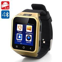 ZGPAX S8 Android 4.4 Smartwatch Phone(Golden)