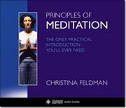 CD The only guide you ever need :) Meditation af Christina Feldman, ISBN 9780007174898