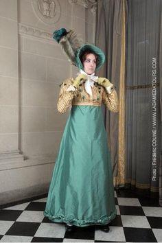 tenue d'après midi (robe et spencer) 1811