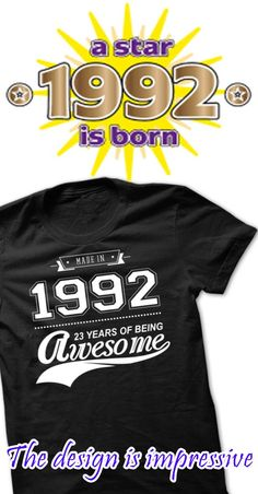 Made In 1992 - 23 Years Of Being Awesome