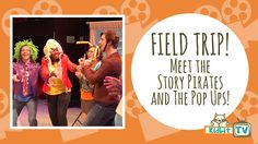 KidLit TV was treated to performances by two of Symphony Space's favorites: Story Pirates and the Grammy-nominated The Pop Ups. And it was fantastic!