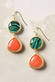 Anthropologie earrings- can never go wrong