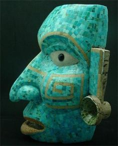 """Puebla, Mexico, """"Mascara de Teotihuacan"""""""
