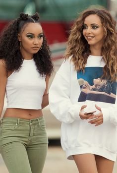 Discovered by natalia ♡ᵕ̈. Find images and videos about little mix, jade thirlwall and leigh-anne pinnock on We Heart It - the app to get lost in what you love. Jade Little Mix, Little Mix Style, Jesy Nelson, Perrie Edwards, Little Mix Outfits, Litte Mix, Mixed Girls, Girl Bands, Leiden