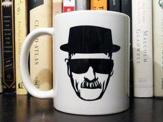 Heisenberg - Ceramic Mug - Breaking Bad Heisenberg Mug, need!!!