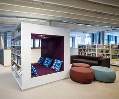 Beau Modern Library Furniture. Cocoon \u0026 Lounge. Modern Library: Library  Furniture