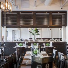 Fourchette Antillaise project reveal - Valérie De L'Étoile interior design Restaurant, Decoration, Conference Room, Furniture, Design, Home Decor, Decor, Decoration Home, Room Decor