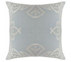 Parisienne Sky Linen Large Cushion cover