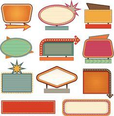 Bullet Journal Ideas Pages, Bullet Journal Inspiration, Free Vector Graphics, Free Vector Art, Las Vegas, Mid Century Art, Pin Up Art, Retro Art, Art Deco Design
