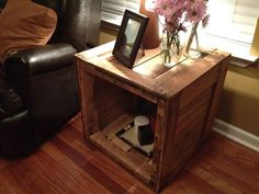 another end table - could add pillow in it for hidden cat bed