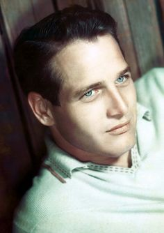 """I picture my epitaph: 'Here lies Paul Newman, who died a failure because his eyes turned brown'."" ~Paul Newman"