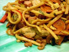 Bami Goreng (Indonesian Stir Fried Noodles)There are as many recipes for Bami Goreng as there are people to make them. Bami Goreng is an Indonesian dish that's traditional to the Netherlands. Also one of my favorite dishes!