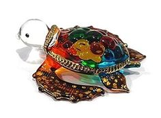 "Click the Link in Bio Search ""Handmade Sea Turtle Art Art Glass Blown Sea Animal Figurine"" to Buy It."