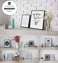 Description: Introducing new 12 amazing photo mockups that will be perfect to showcase your poster, illustration, artwork and more! Free for download. File format: .psd for Photoshop or other vector software. File size: 505 Mb.