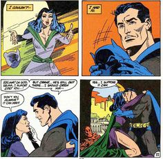 Bruce and Selina surrender. From The Brave and the Bold #197 (1983); art by Joe Staton and George Freeman.