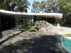 Oscar Niemeyer's Casa das Canoas, Rio de Janeiro, Brazil, ©TMerrigan 2011 All rights reserved