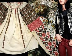 early century Romanian blouse The Met - traditional Easter eggs on… Embroidery Stitches, Hand Embroidery, Nature Symbols, Protection Symbols, Secret Language, Social Status, Easter Traditions, Embroidered Jacket, Folk Costume