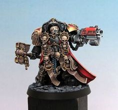 The best chaplain miniature, and it's so very hard to get :-(