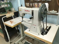 My new Cowboy 3200 Industrial sewing machine