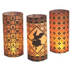 """Check out this item at One Kings Lane! Asst. of 6 11"""" Kaleidoscope Luminaries"""
