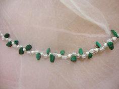 Malachitchips Beaded Bracelets, Jewelry, Fashion, Malachite, Chain, Schmuck, Moda, Jewlery, Bijoux