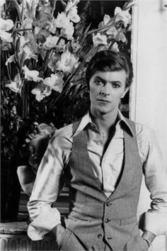 David Bowie, Paris, 1977