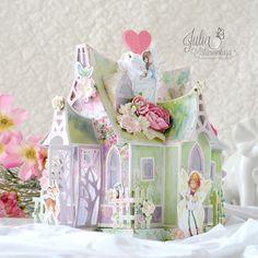 Julia Ost handmade: Дом для маленькой принцессы.