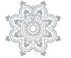 Crochet Snowflake Pattern, Crochet Stars, Crochet Snowflakes, Crochet Mandala, Christmas Snowflakes, Crochet Motif, Crochet Stitches, Doilies, Coasters
