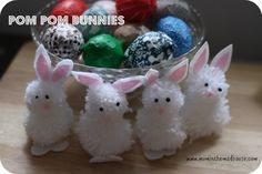 Pom Pom Bunnies and Chicks - Mum In The Madhouse- Mum In The Madhouse