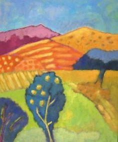 morning has broken - 60 x 50 cm - acryl - canvas