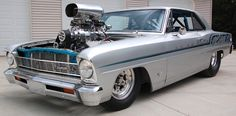 1967 Chevy II Pro Street..Re-pin...Brought to you by #CarInsurance at #HouseofInsurance in Eugene, Oregon