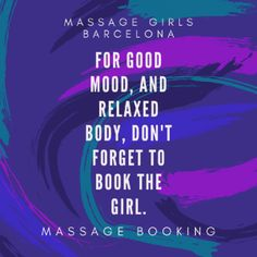 Massage booking Barcelona, the girls do massage at your place. This is home service massage in Barcelona. #massagebarcelona #barcelonamassage #massagebookingbarcelona #barcelonamassagebooking