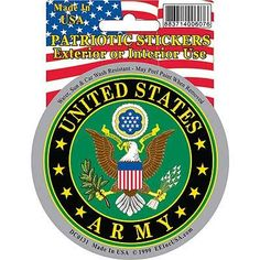 DECAL, US ARMY