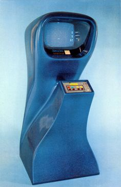 Shop for-and learn about-Vintage Arcade Games. Arcade games encompass a variety of coin-operated machines found in amusement arcades, from mechanized ball. Pinball, Inspektor Gadget, Science Fiction, Vintage Magazine, 70s Sci Fi Art, Retro Arcade, Old Computers, Vaporwave, Arcade Games