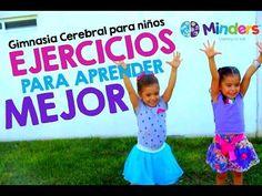 Gimnasia Cerebral para niños - 6 ejercicios para aprender mejor - YouTube