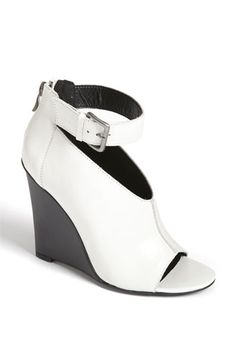 Modern White & Black Wedges