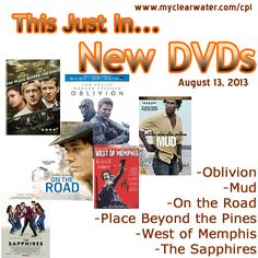 New DVDs August 13, 2013