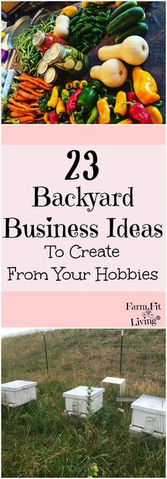 backyard business ideas   Ideas for new businesses   Hobbies and Interests   Homesteading   Making Money from the homestead