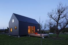 The 'G house' located in Normandy, France - Designed by Lode Architecture