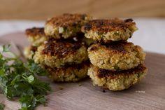 quinoa patties (recipe from ziziadventures.com)