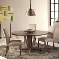 Boylston Table - Viking Casual Furniture From Saloom Another finely crafted table by the Saloom design team. The Boylston is a contemporary statement in dining.