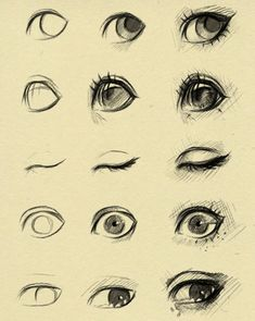eyes reference 2 by ryky on DeviantArt via cgpin.com: