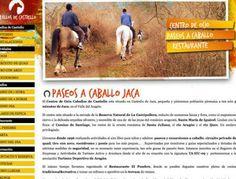 Diseño Garabato - Caballos de Castiello centro de ocio www.caballosdecastiello.es #caballos #naturaleza #web
