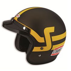 Scrambler By Ducati - Short Track Jet Helmet Large 981030845 Ducati Performance, Performance Parts, Motorcycle Helmets, Bicycle Helmet, Scrambler Ducati, Open Face Helmets, Cafe Racer Build, Custom Bikes