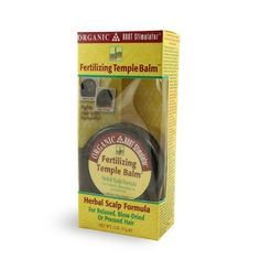 Organic Root Stimulator Herbal Scalp Formula, Fertilizing Temple Balm, 2 oz. by Organic Root Stimulator. $4.04. Increases healthy skin cell production. For temples, scalp and thin hair areas. Exfoliates clogged follicles. Stimulates and promotes circulation. Protects and strengthens newly emerging hair shafts. Step by step guide inside! For relaxed, blow-dried or pressed hair. Organic Root Stimulator is based on a fertilization system that uses botanical ingredien...