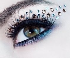 Crystal + Bronze Jeweled Wing! #eye #jewels